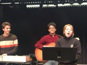"""Thumbnail for Lewis Center for the Arts presents performance of original songs by students in the spring course, """"How to Write a Song"""" led by poet Paul Muldoon and composer Steve Mackey"""