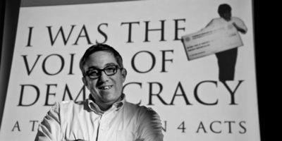 Lewis Center for the Arts' Program in Theater presents <em>I Was the Voice of Democracy</em>